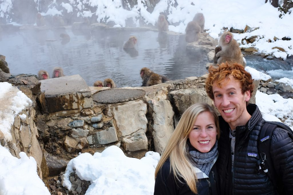 snow monkeys japan ajourneylife