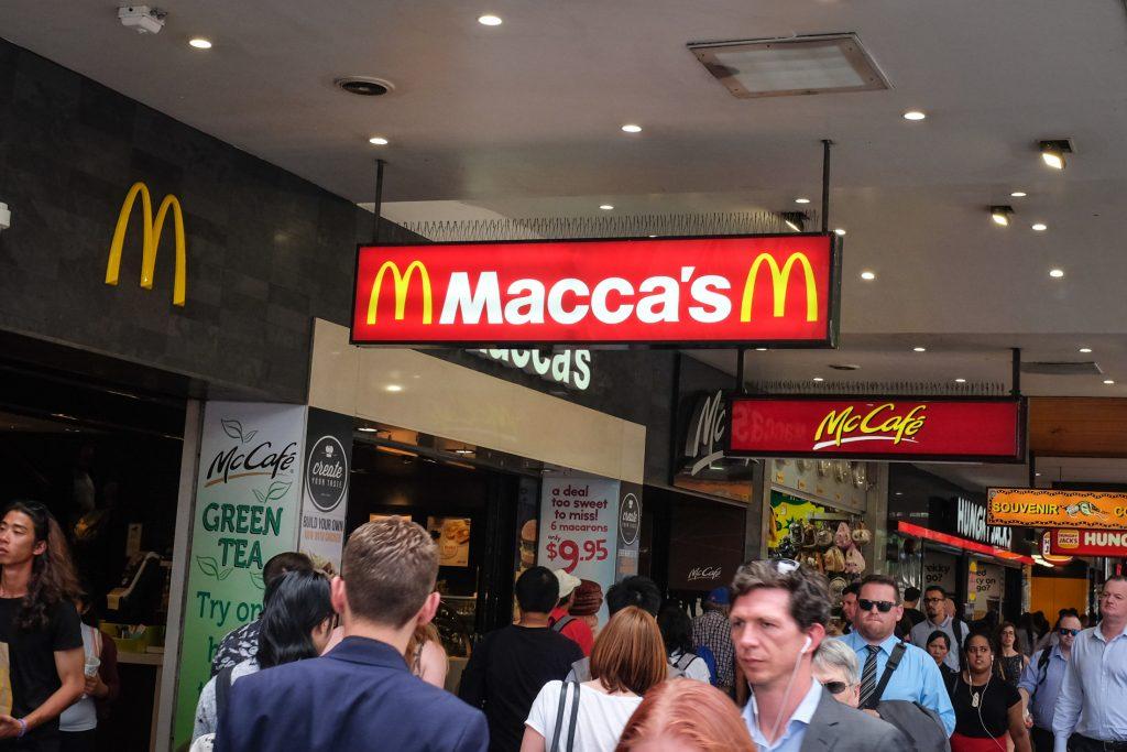macca mcdonalds australia ajourneylife
