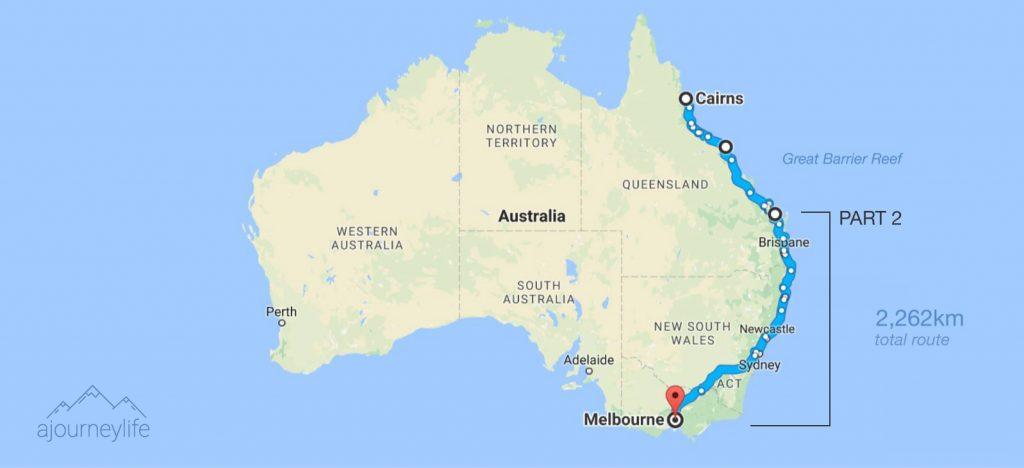 australia map road trip ajourneylife