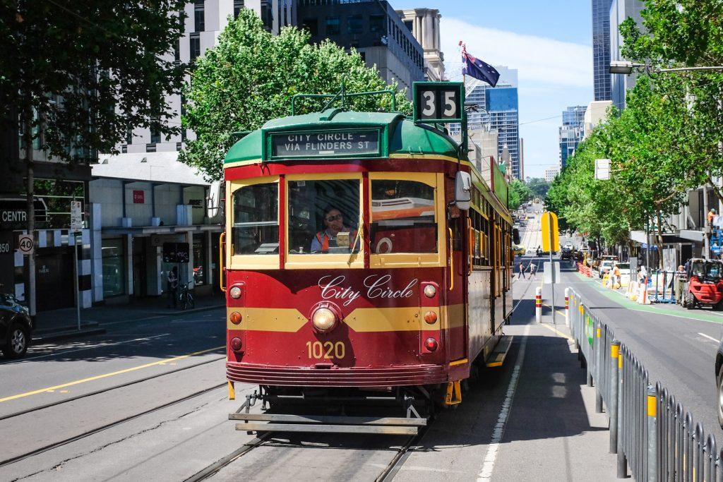 City tram melbourne ajourneylife